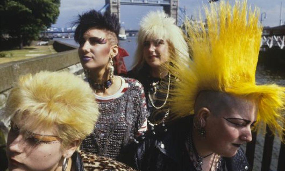 Punks at London Bridge, PYMCA