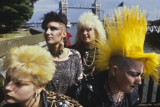 Punks at London Bridge, PYMCA