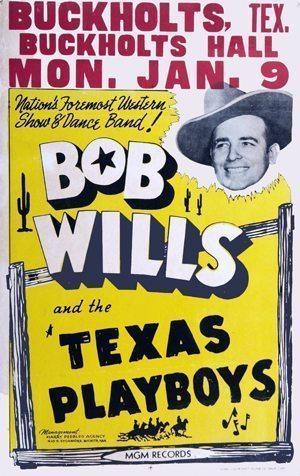 Bob Wills poster