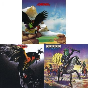 Budgie Vinyl Reissues Cover Montage - 530