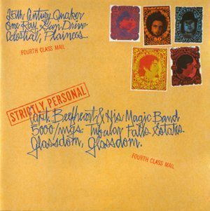 Captain Beefheart Strictly Personal Album Cover - 300