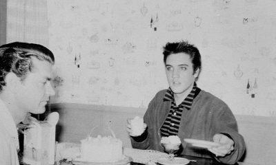Elvis Presley and Sam Phillips photo by Colin Escott and Michael Ochs Archives and Getty Images