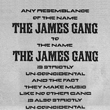 James Gang ad