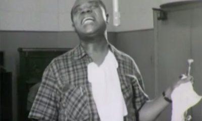 Louis Armstrong In Los Angeles Recording Studio 1959