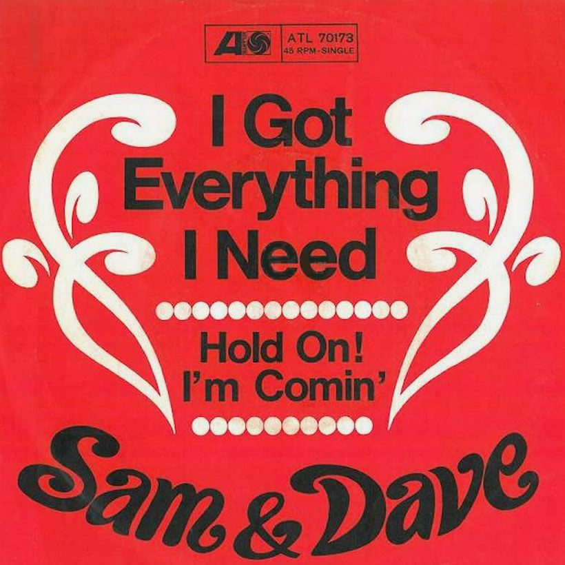Sam and Dave Hold On Im Comin single