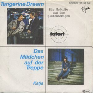 Tangerine Dream Das Madchen Auf Der Treppe Front Cover