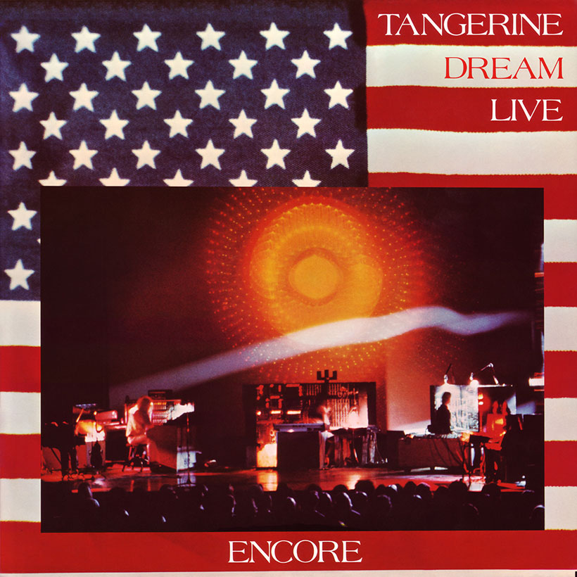 Tangerine Dream Encore album cover web optimised 820