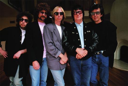 Traveling Wilburys Colour Photo