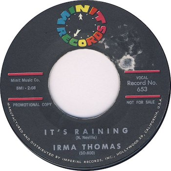 Irma Thomas It's Raining