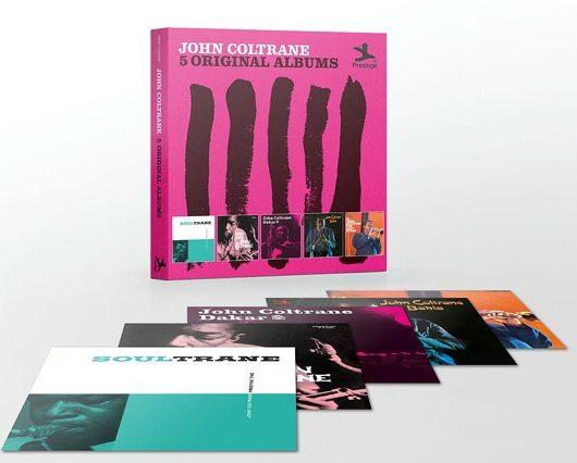 Five Classic John Coltrane Albums In A Box