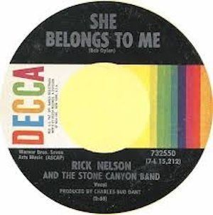 She Belongs To Me disc