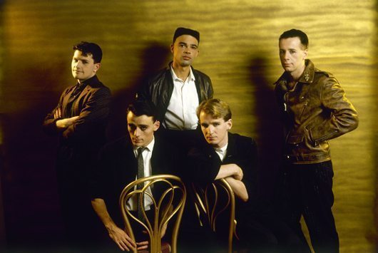 Simple Minds New Gold Dream era (1982) [credit Sheila Rock]