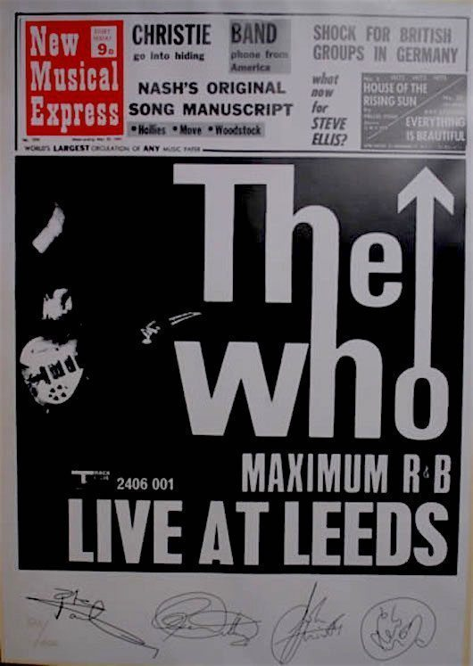 The Who Put Leeds On US Map With Live Classic UDiscover - Put us on the map