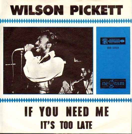 Wilson Pickett Vs. Solomon Burke