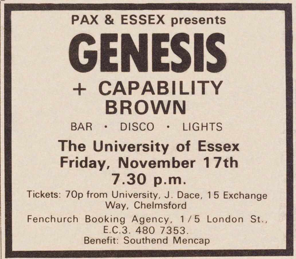 721117 Genesis gig