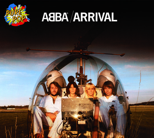 ABBA Arrival Album Cover - 530 - with logo
