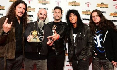 Anthrax Golden Gods Awards