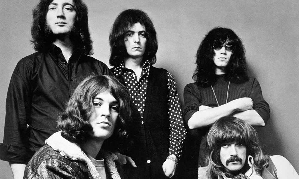 Deep Purple photo by Michael Ochs Archives and Getty Images