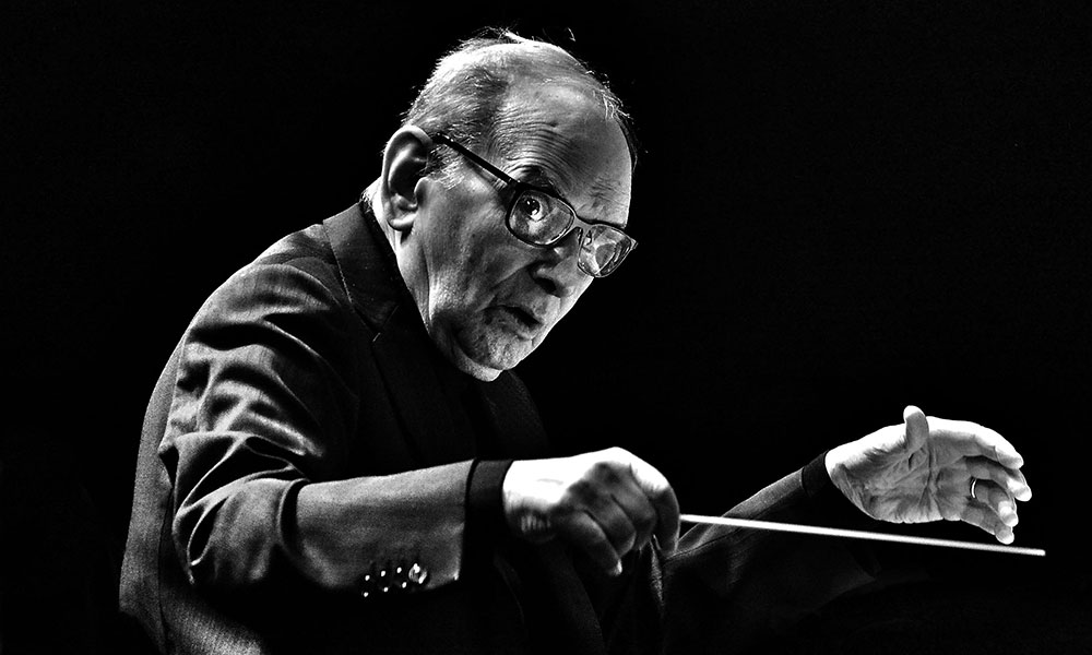 Ennio Morricone photo by Jim Dyson and Redferns