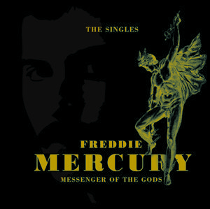 Freddie Mercury Messenger Of The Gods Singles Packshot - 300
