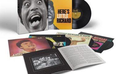 Little Richard Mono Box Album-Cover Exploded Packshot - 530