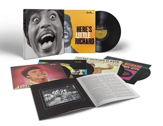 Little Richard Mono Box Album-Cover Exploded Packshot - 530