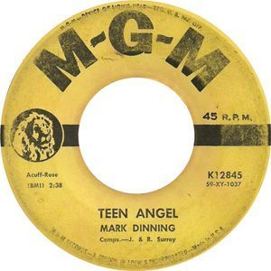 Mark Dinning Teen Angel Single - 300