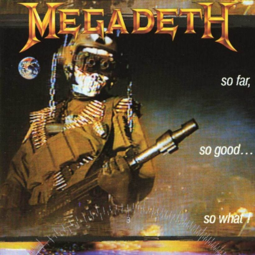 Megadeth So Far So Good So What Album Cover