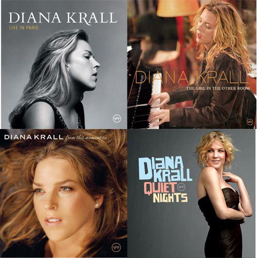 Diana Krall LP Montage 2