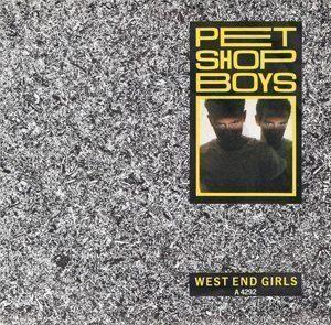 Pet Shop Boys West End Girls Single Artwork - 300