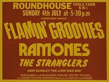Hey! Ho! Let's Go! Ramones At The Roundhouse, 4 July 1976