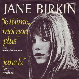 Serge Gainsbourg And Jane Birkin Je T'aime - 300
