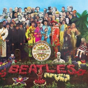 The Beatles Sgt Peppers Lonely Hearts Club Band Album Cover