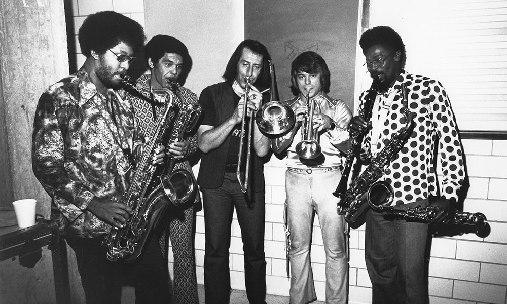 The Memphis Horns photo by Gilles Petard and Redferns