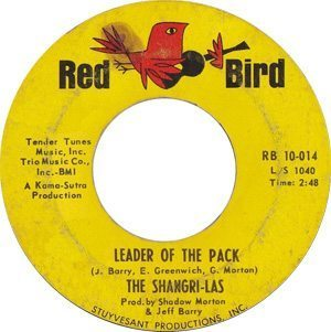 The Shangri-Las Leader Of The Pack Single - 300