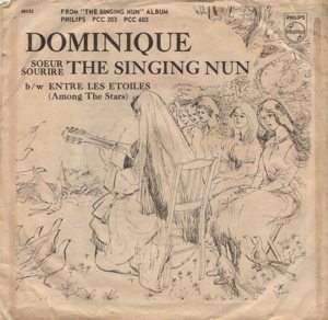 The Singing Nun Dominique Single Sleeve - 300 one-hit wonders