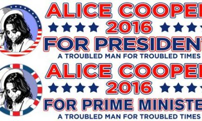 Alice Cooper For President/Prime Minister