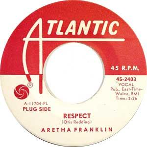 Aretha Franklin - Respect Artwork