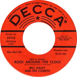 Bill Haley - We're Gonna Rock ARound The Clock Artwork