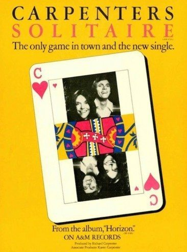 The Carpenters – The Only Game In Town?