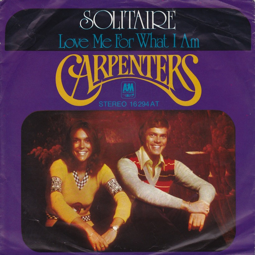 The Carpenters' Solitaire: The Only Game In Town? | uDiscover