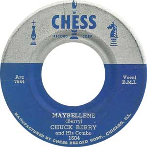 Chuck Berry - Maybellene Artwork