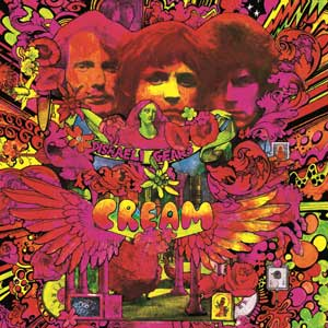 Cream - Disraeli Gears Cover