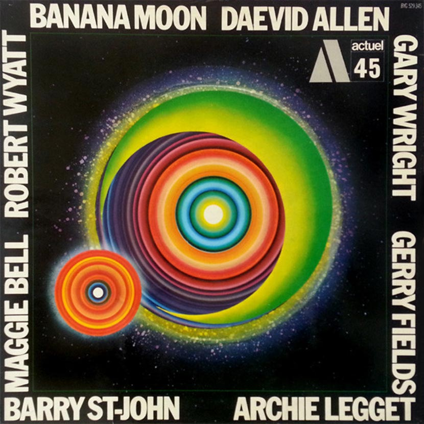 Daevid Allen Banana Moon album cover web 830 optimised