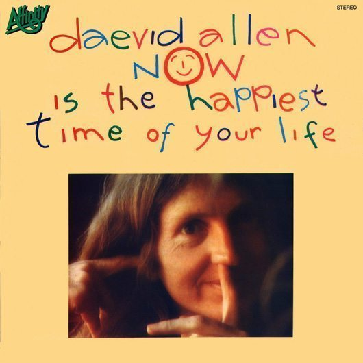 Daevid Allen Now Is The Happiest Time Of Your Life Album Cover - 530