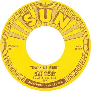 Elvis Presley - That's All Right Artwork