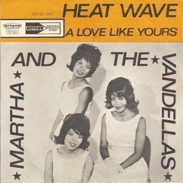 Martha & The Vandellas Turn Up The Heat