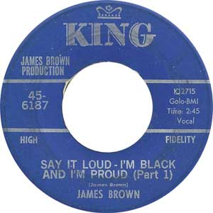 James Brown - Say It Loud Artwork