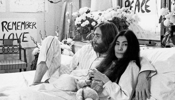 John Lennon & Yoko Ono Bed Down In The Hot 100