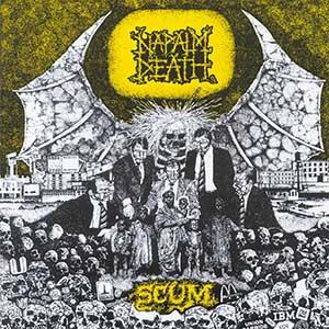 Napalm Death Scum Artwork